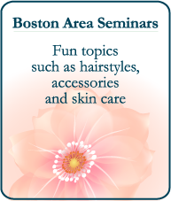 Fun topics such as hairstyles, accessories and skin care