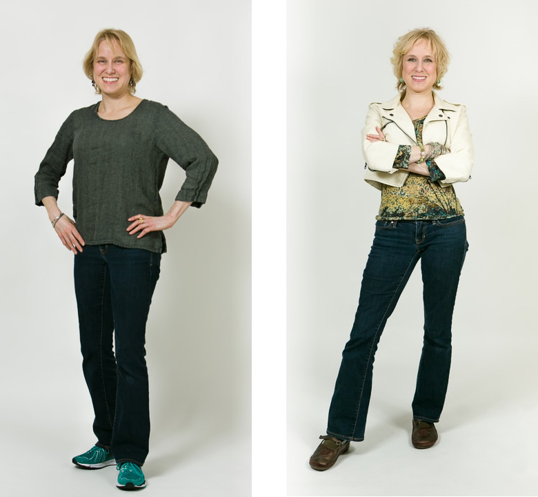 Before and After: Amanda - Total Image Consultants