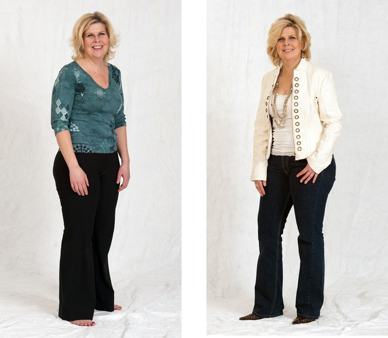 Before and After: Annie - Total Image Consultants