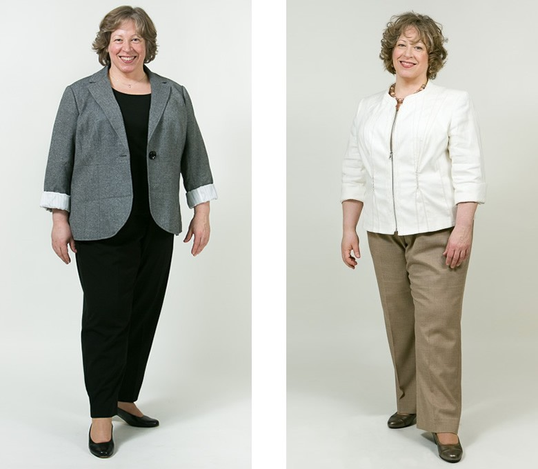 Before and After: Diane - Total Image Consultants