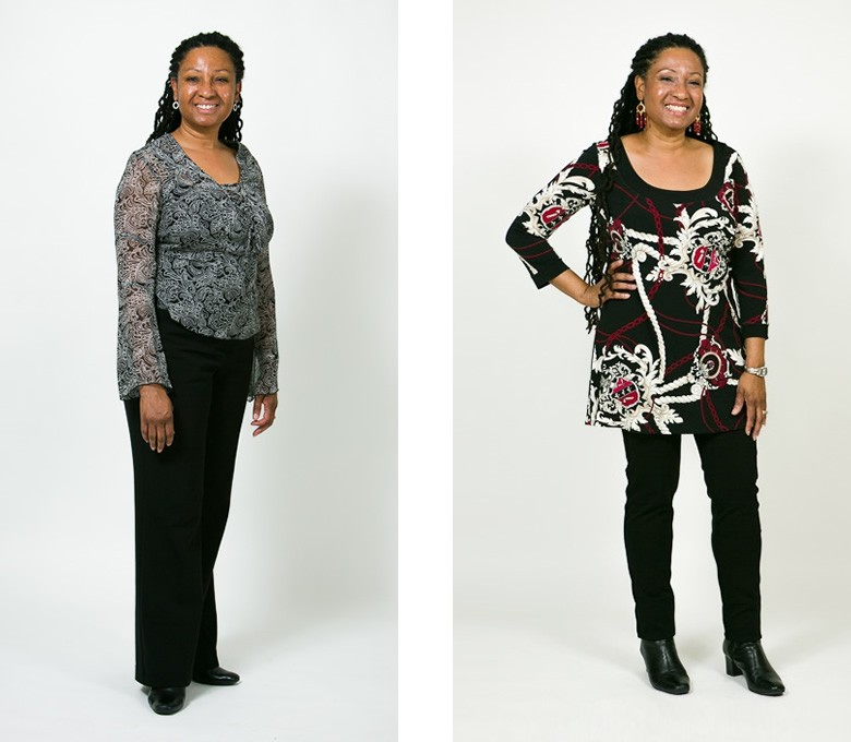 Before and After: Jackie - Total Image Consultants