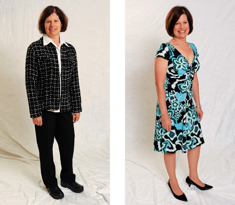 Before and After: Meryl - Total Image Consultants