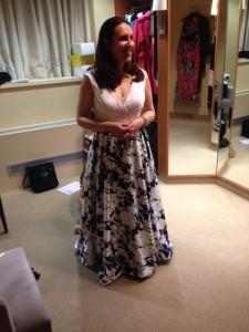 Heather Shopping Long Dress 2014