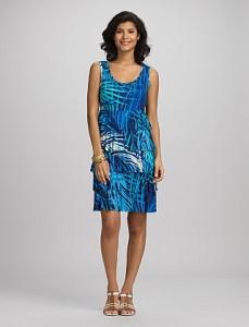 Short Tiered Dressbarn Dress