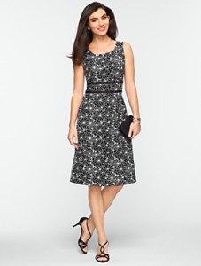 Talbots A-line dress
