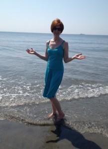 Ginger at Beach 2013